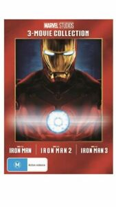 Iron Man Trilogy - 3 Movie Collection