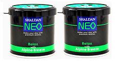 My Shaldan Car/Home Gel Based Air Freshener NEO ALPINE BREEZE (Pack of 2)
