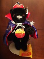 """STEIFF Meyer's LE Exclusive Crystal Wizard """"The Wishing Bear"""" Vintage"""