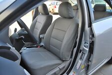 TOYOTA COROLLA 2009-2013 IGGEE S.LEATHER CUSTOM SEAT COVER 13 COLORS AVAILABLE