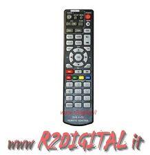 TELECOMANDO 2in1 UNIVERSALE DIGITALE TERRESTRE DVB-T TV AUX DVD RICAMBIO TELEVIS
