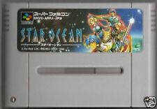 STAR OCEAN SNES Nintendo Super famicom SFC Japan SNES  01