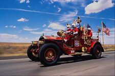 455081 1912 American LaFrance Fire Truck A4 Photo Print