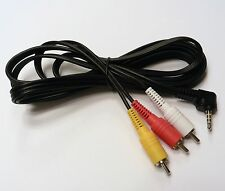 6Ft Canon/Sony/Panasonic/Samsung A/V AV camcorder cable
