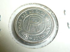 "VINTAGE RAILROAD TOKEN "" THIS TOKEN AWARDED FOR SKILL """