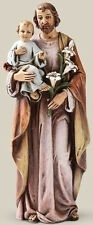 "NEW! 6"" St. Joseph with Jesus Christ Child Statue Figurine Religious Gift Church"