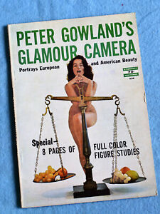 Peter Gowland's  *** GLAMOUR CAMERA ***  1959 Rare Photography Magazine