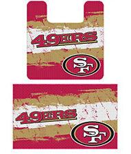 NFL San Francisco 49ers, 2pc Bathroom Rug Set, NEW