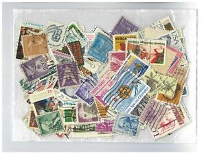 USA Pack of 200 Different Stamps All Used Off Paper