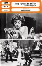 FICHE CINEMA : UNE FEMME EN ENFER - Hayward,Conte,Mann 1955 I'll Cry Tomorrow