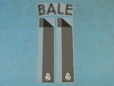 Spanish La Liga 2014-2015 Real Madrid #11 Bale Homekit NameSet Printing