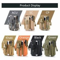 Universal Outdoor Tactical Holster Military Molle Hip Waist Belt Bag Wallet