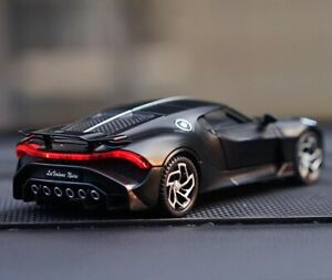 Kids Bugatti Lavoiturenoire Toys Sport Alloy Car Diecasts Collection Gift 1:32