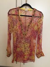 CAMILLA Gorgeous Silk Lace-up Shirt Blouse (One Size)