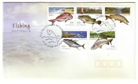 "2003 FDC Australia. Fishing. ""Fish"" PictFDI ""FISH CREEK"""