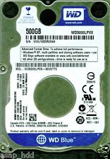 WESTERN DIGITAL SATA 500GB WD5000LPVX-80V0TT0 DCM: DHKTJHN