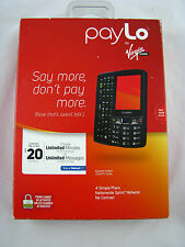 NEW Kyocera Contact (Paylo by Virgin Mobile) Smartphone Slider NO ASSURANCE
