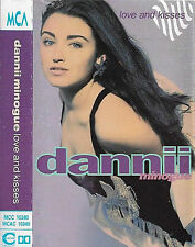 Dannii Minogue Love And Kisses CASSETTE ALBUM Electronic House, Downtempo Pop