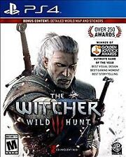Witcher 3: Wild Hunt (Sony PlayStation 4, 2016)