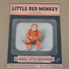 Piano solo Little Red Monkey, Jack Jordan