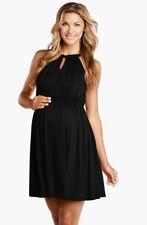 MATERNAL AMERICA Halter Maternity Dress M NWT 🌸