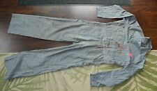 BAYLY Underhill Hickory Stripe Coveralls / Size: 42 / Pre-Owned / Union Made