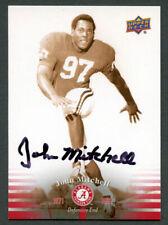 John Mitchell #15 signed autograph auto 2012 Upper Deck Alabama Football Card