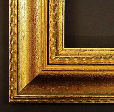 Cadre d'image bois Baroque Carabus Violaceus (Carabe Violet) , décoré 69,0 -