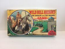 Vintage Wild Bill Hickok'sThe Cavalry and The Indians Game Plus The India Game S