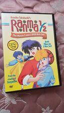"""Ranma 1/2 The Movie 1 and 2"" Dvd Box Set"