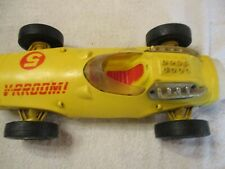 Mattel V-RRoom # 5 Yellow Race Car VROOM  1960's