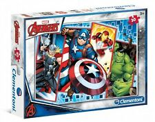 Marvel Avengers Super Hero Color Puzzle - Kid's Action Figures Characters Game