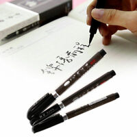 3X/Set Chinese Japanese Calligraphy Brush Pen Writing Art Script Painting Tool