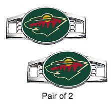 Minnesota Wild Shoe Charms / Paracord Charms