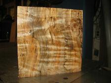 FIGURED WESTERN BIG LEAF MAPLE WOOD TURNING LUMBER 9 x 9 x 3 BOWL BLANK