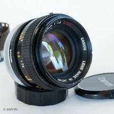CANON FD 50mm f/1.4 S.S.C. Lens FD Mount from U.S S# 895686