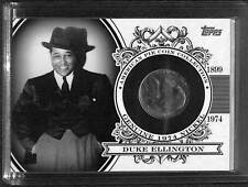 2011 Topps American Pie Coin Collection #APCC-10 Duke Ellington No 19 of 25