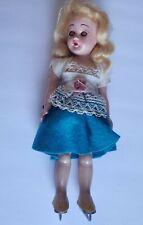 Vintage Souvenir Of Ice Capades Hans Brinker Doll with blinking eyes