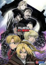 Fullmetal Alchemist Conqueror of Shamballa DVD WITH CASE & ART BUY 2 GET 1 FREE