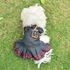 Unbranded Denim Chihuahua Dog Clothing Shoes Ebay