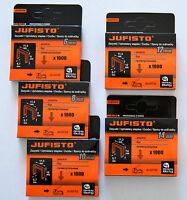 Graffette Spillatrice Professionale Tipo 53 in 5 Gr.11, 3x0, 7x 6/ 8/ 10/ 12/