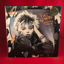 PAT BENATAR Seven The Hard Way 1985 UK vinyl LP + INNER EXCELLENT CONDITION H