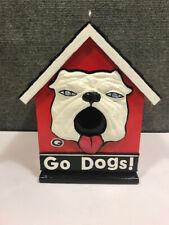 GA / UGA Bulldog birdhouse
