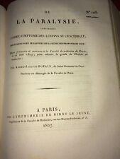 DE LA PARALYSIE considérée Comme Symptôme Des LÉSIONS DE L'ENCÉPHALE 1827