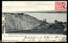 cpa. Canada. Québec . vue prise de l'hôtel Kent . 1905