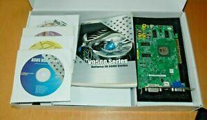 ASUS GeForce V9560/TD Fx 5600 AGP Graphics Set - DVI - TV-Out