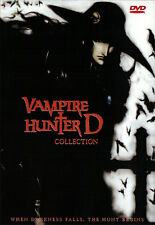 Vampire Hunter D DVD Movies Collection (Vampire Hunter D + Bloodlust) Anime DVD