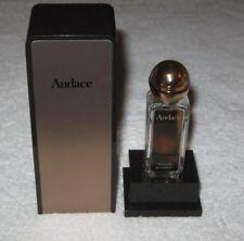 "Vintage Rochas Perfume Bottle and Box - Parfum Audace - 3 1/2"" Height - Empty"