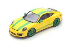 1 18 Spark Porsche 911 (991) R 2016 Yellow/green