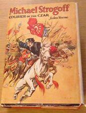 MICHAEL STROGOFF COURIER OF THE CZAR Jules Verne Book (Vintage Hardback)